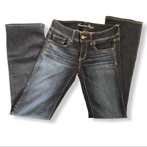American Eagle Slim Boot Dark Wash Jeans